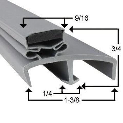 Picture of Empaque magnético perfil JR09555