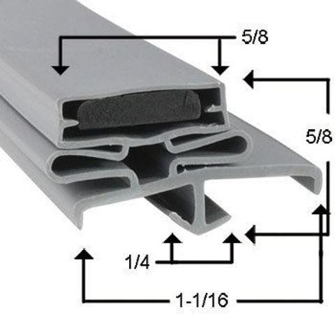 Picture of Empaque magnético perfil JR01650