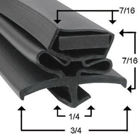 Picture of Empaque magnético perfil JR02209