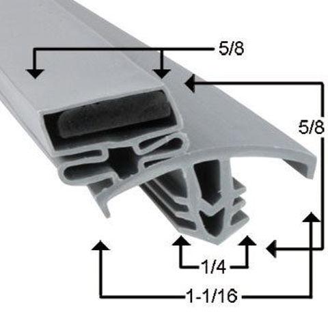 Picture of Empaque magnético perfil JR02210
