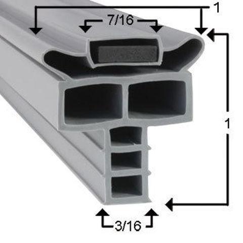 Picture of Empaque magnético perfil JR02257