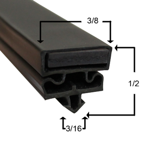 Picture of Empaque magnético perfil JR05480