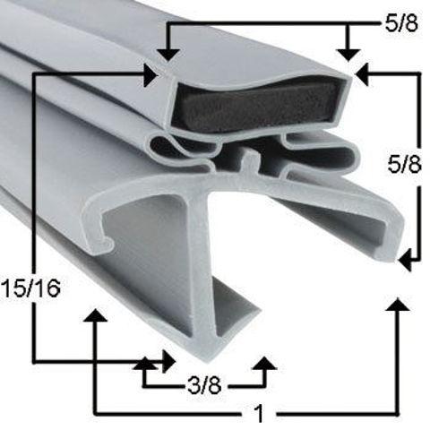 Picture of Empaque magnético perfil JR06010