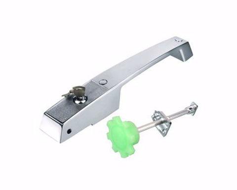 Jaladera con cerrojo para puerta de cámara fría YL-1238L