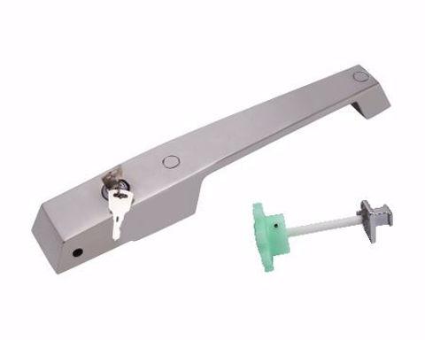 Jaladera con cerrojo para puerta de cámara fría YL-1238LSS