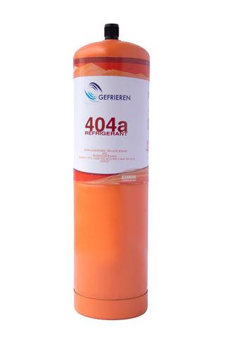 Gas refrigerante Gefrieren R404A 650 gramos