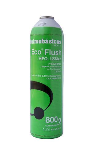 Eco Flush HFO-1233zd presurizado